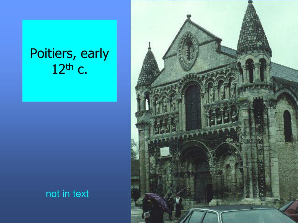 Poitiers, early 12