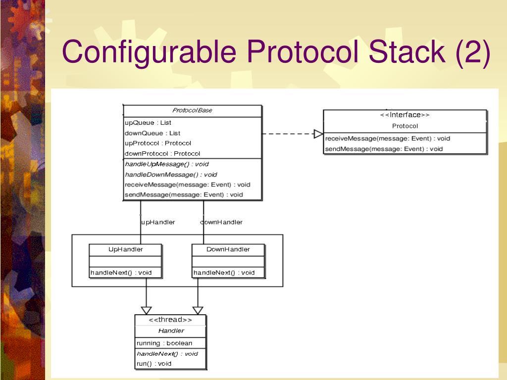 Configurable Protocol Stack (2)