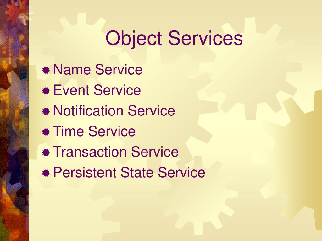 Object Services