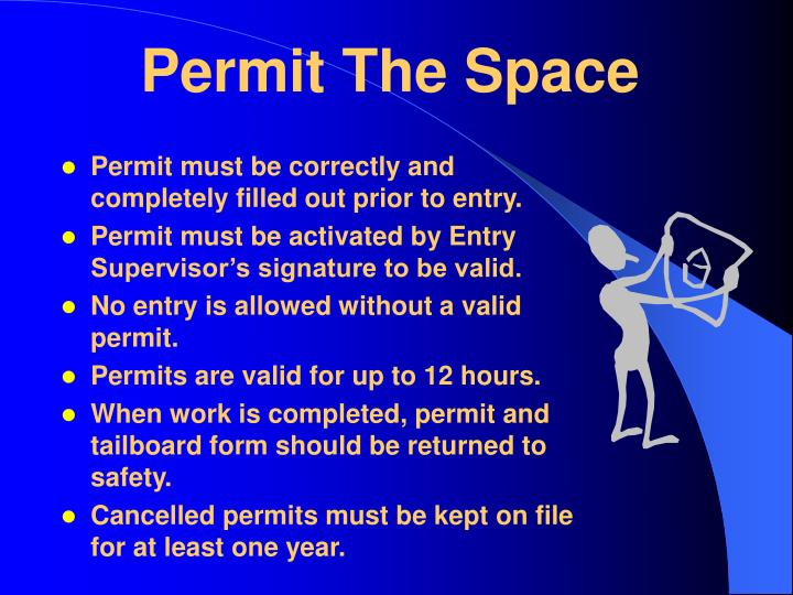 Permit The Space