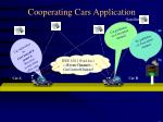 cooperating cars application