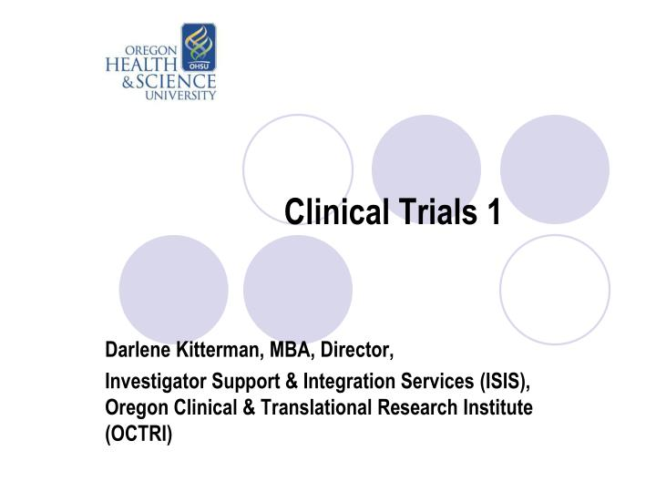 clinical trials 1
