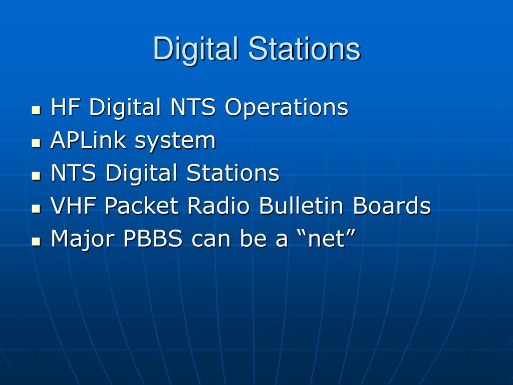 Digital Stations