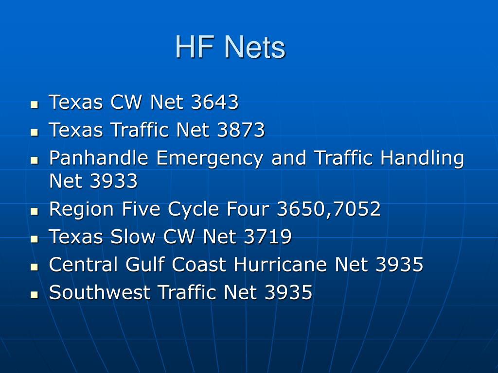 HF Nets