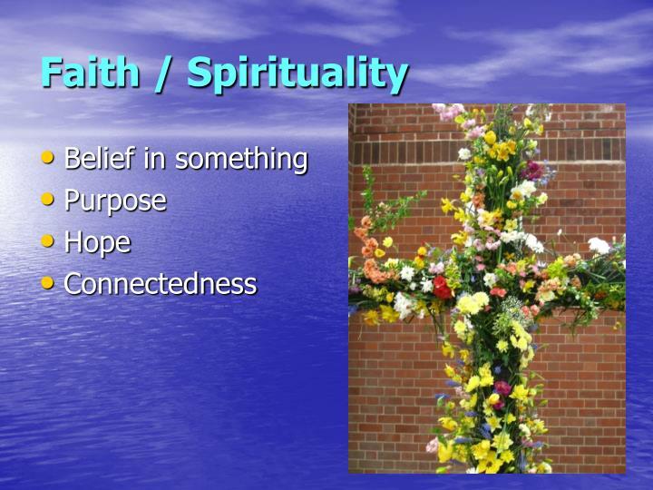Faith / Spirituality