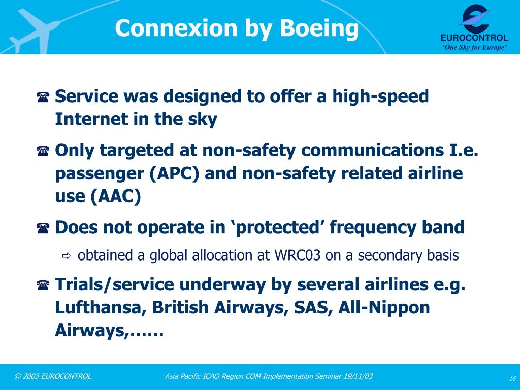 Connexion by Boeing