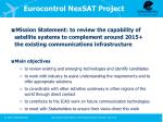 eurocontrol nexsat project