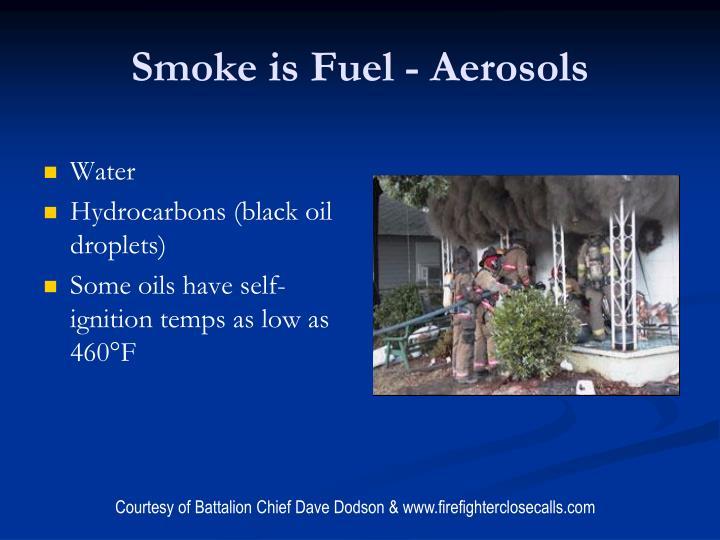 Smoke is Fuel - Aerosols