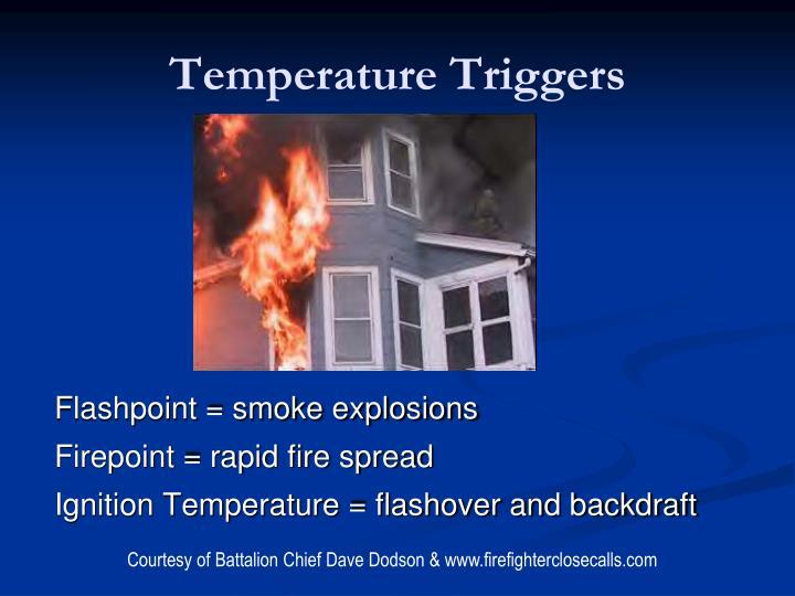 Temperature Triggers