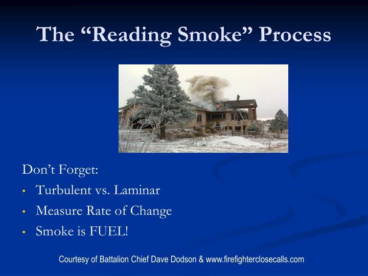 """The """"Reading Smoke"""" Process"""