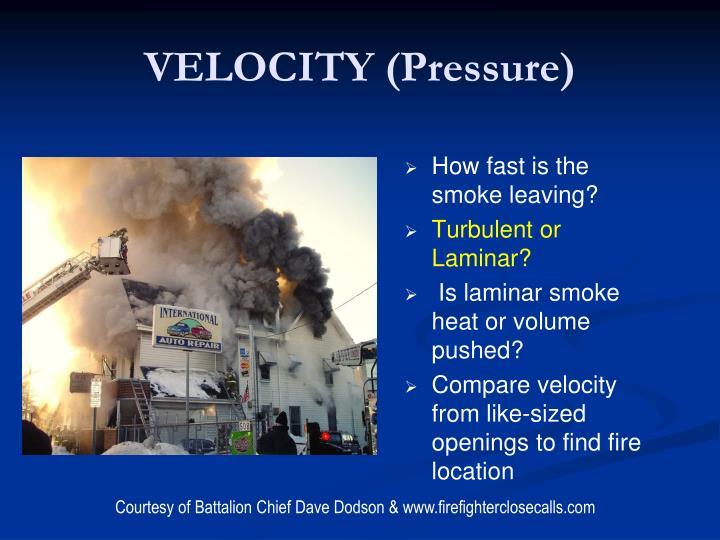 VELOCITY (Pressure)