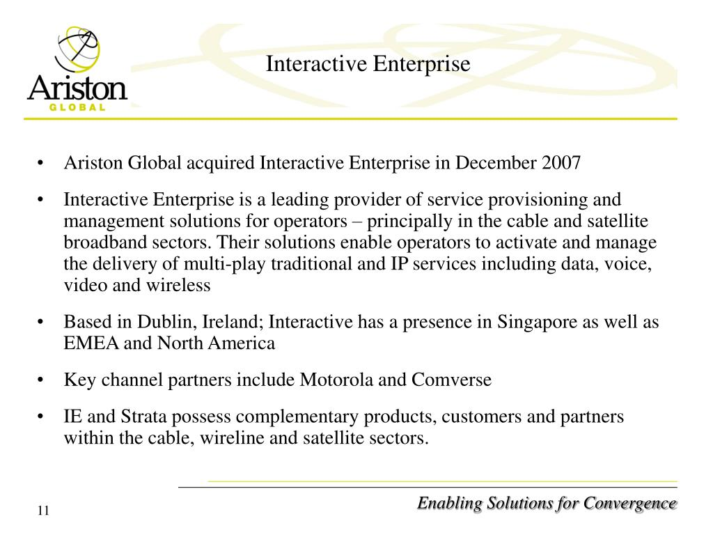 Interactive Enterprise