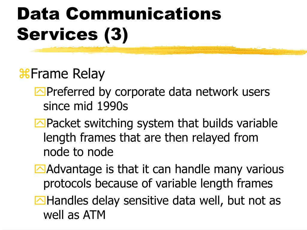 Data Communications Services (3)