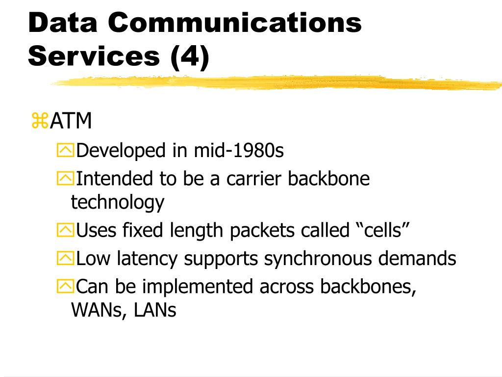 Data Communications Services (4)
