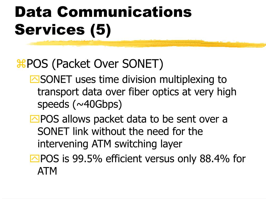 Data Communications Services (5)
