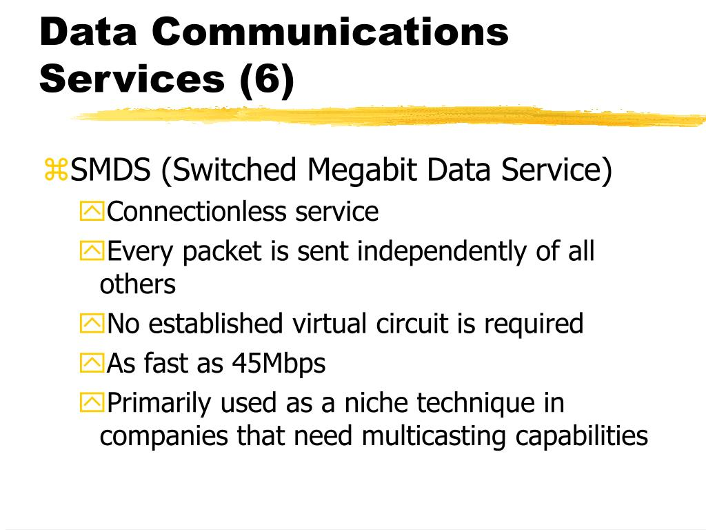 Data Communications Services (6)