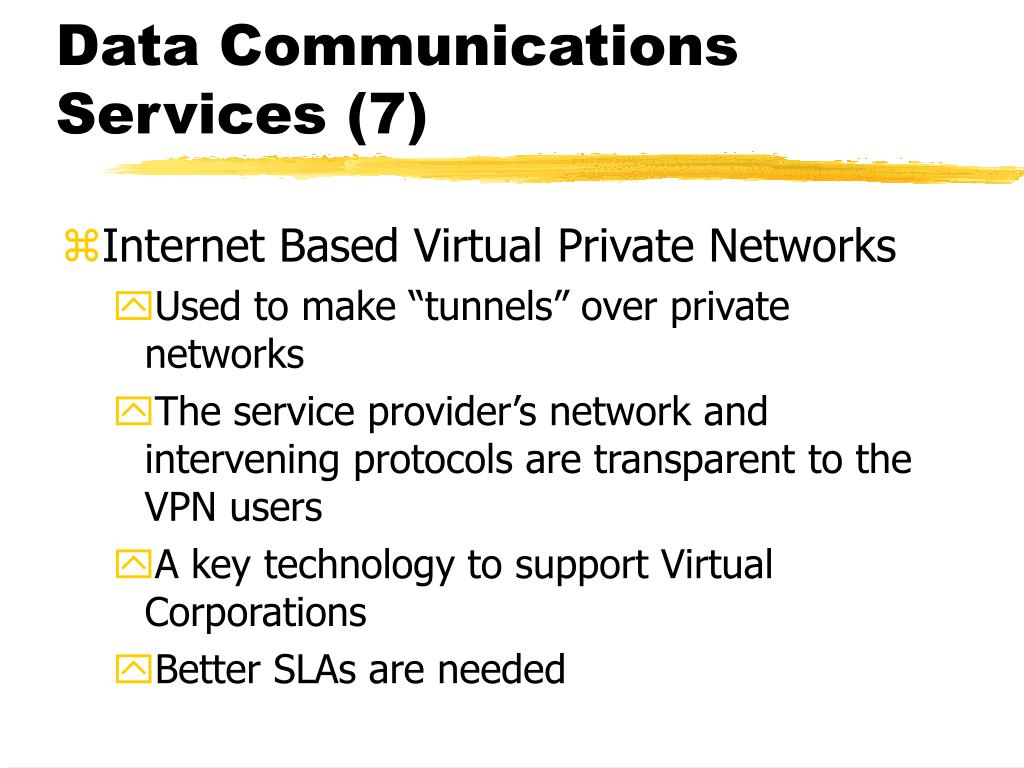 Data Communications Services (7)
