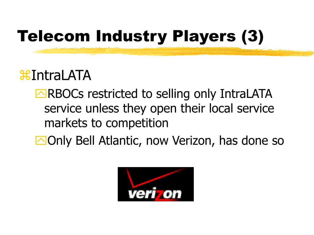 Telecom Industry Players (3)