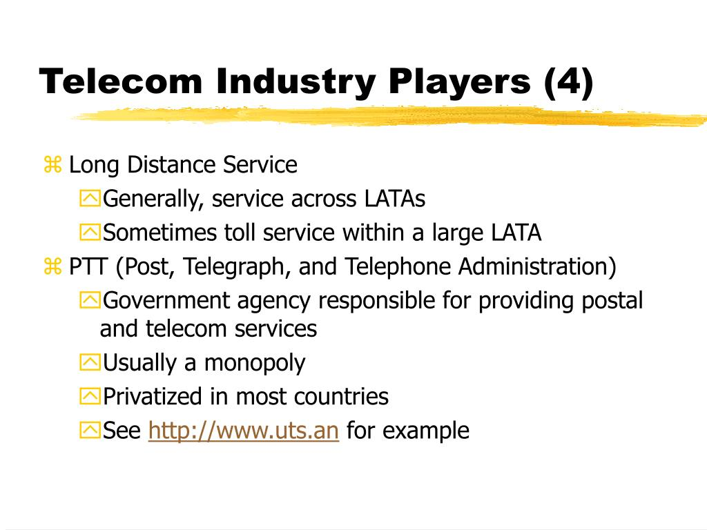 Telecom Industry Players (4)