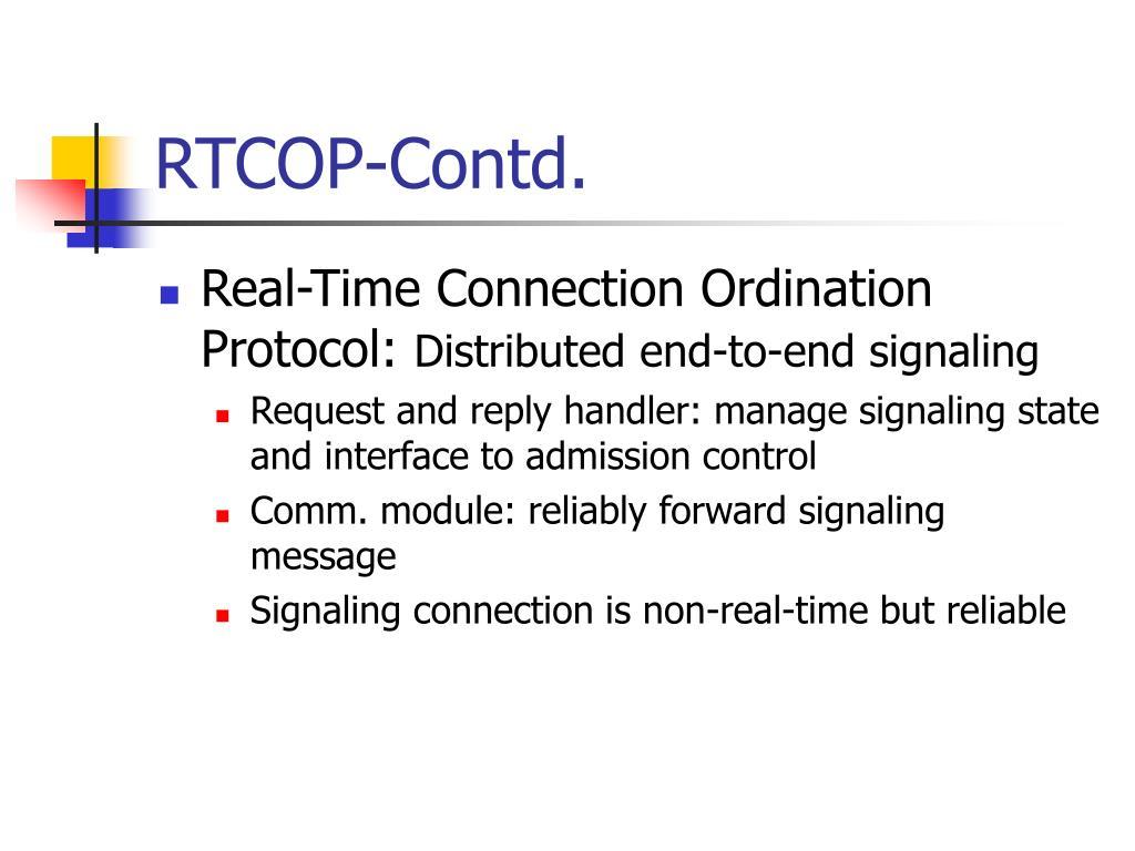 RTCOP-Contd.