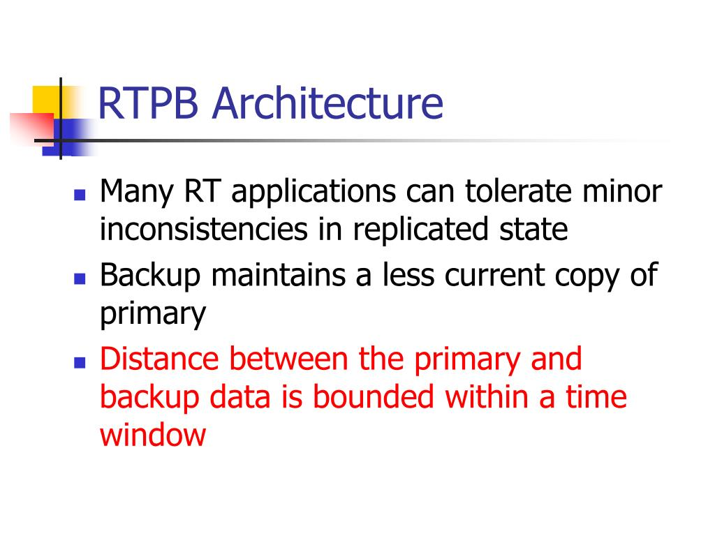 RTPB Architecture