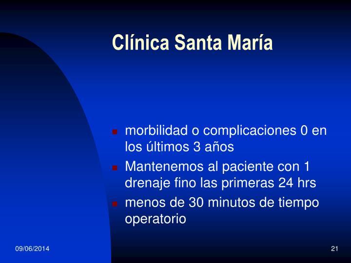 Clínica Santa María