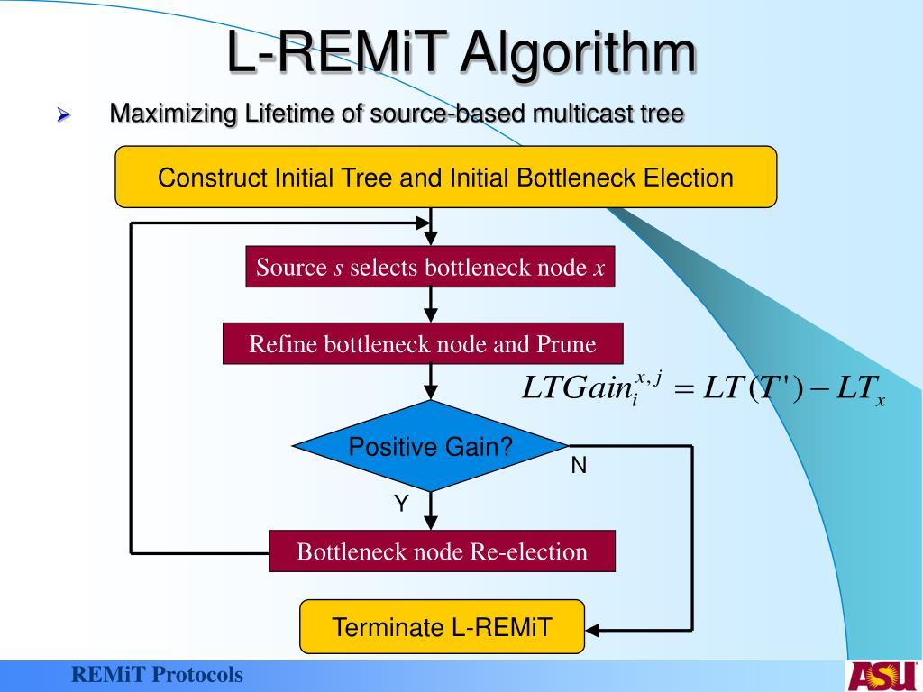 L-REMiT Algorithm