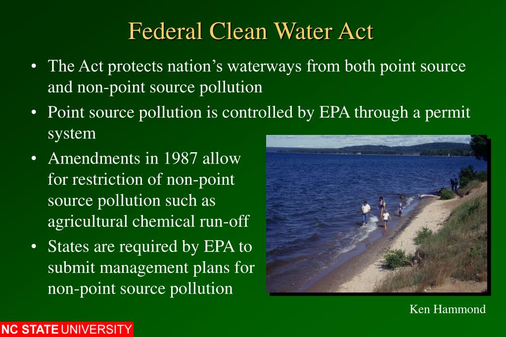 Federal Clean Water Act