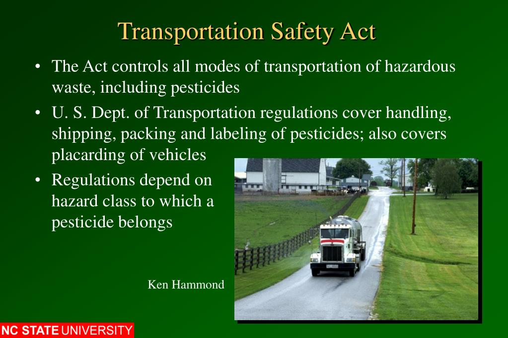 Transportation Safety Act