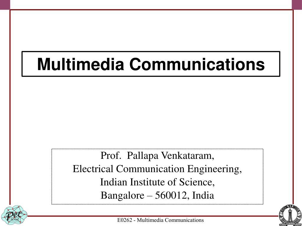 Prof.  Pallapa Venkataram,