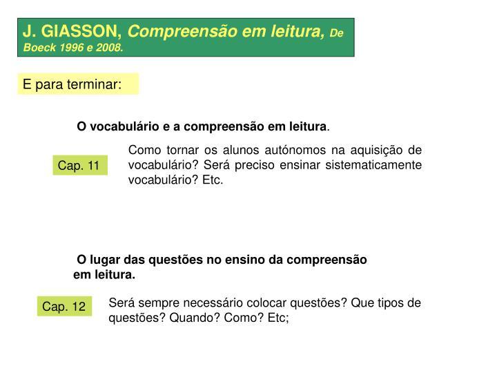 J. GIASSON,
