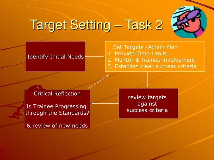 Target Setting – Task 2