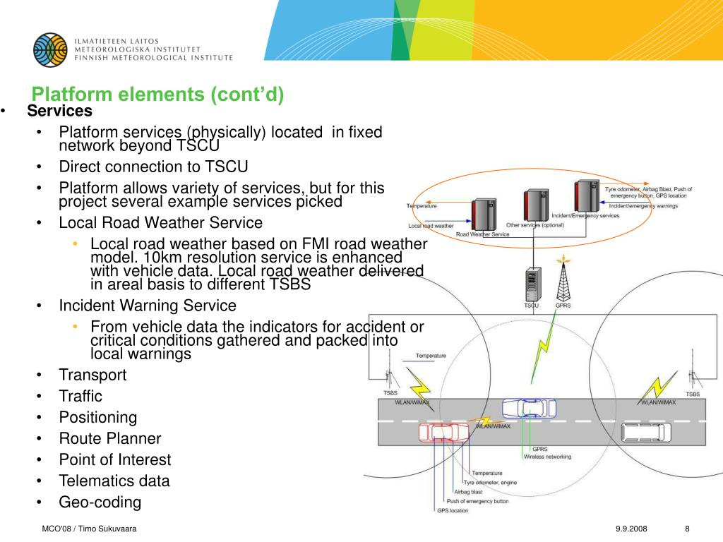 Platform elements (cont'd)