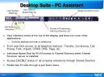 desktop suite pc assistant