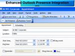 enhanced outlook presence integration cont38