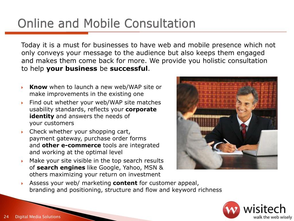 Online and Mobile Consultation