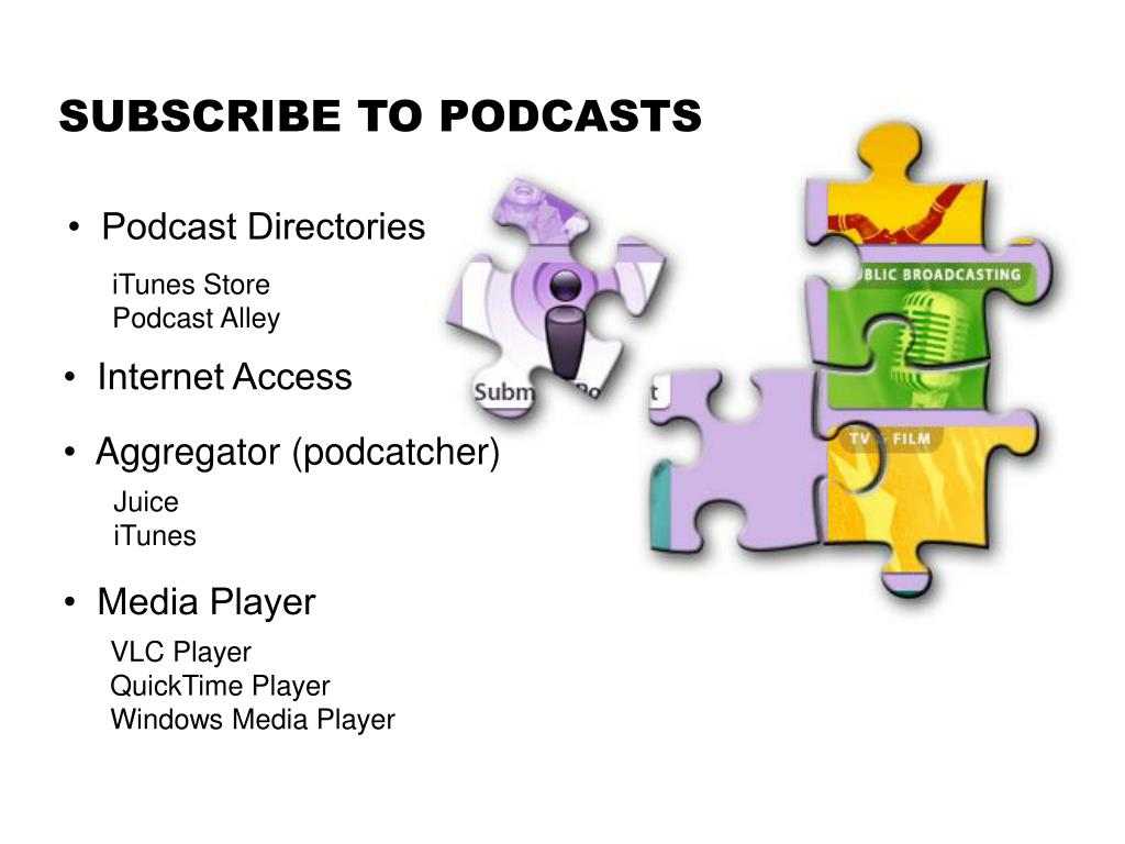 SUBSCRIBE TO PODCASTS
