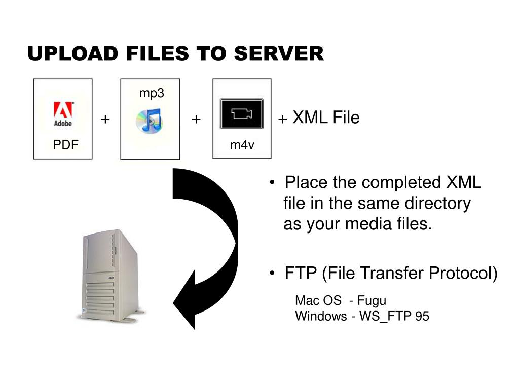 UPLOAD FILES TO SERVER