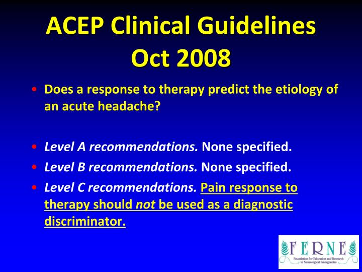 ACEP Clinical