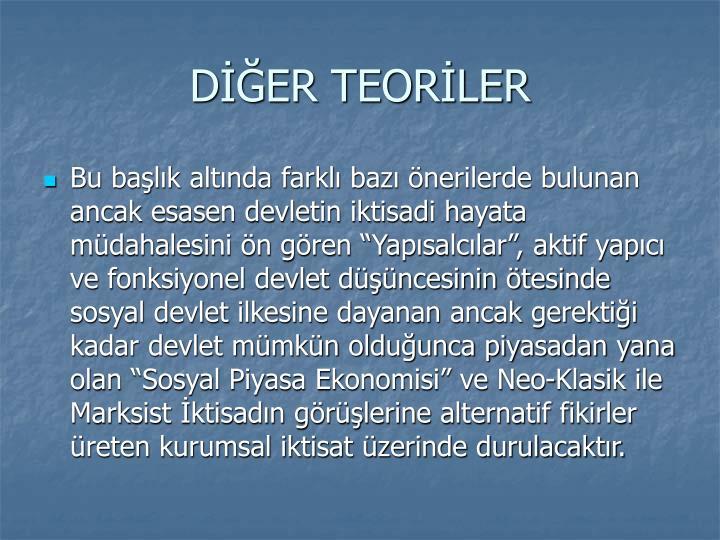 DER TEORLER