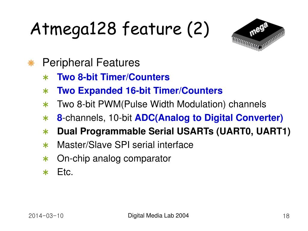 Atmega128 feature (2)