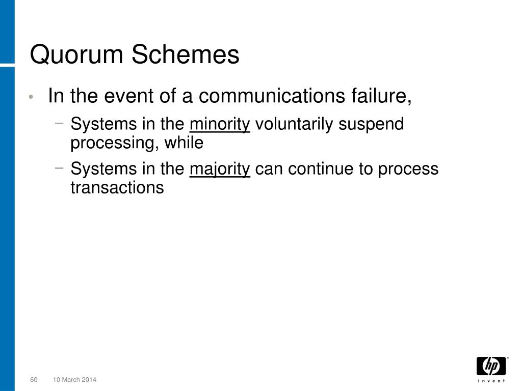 Quorum Schemes