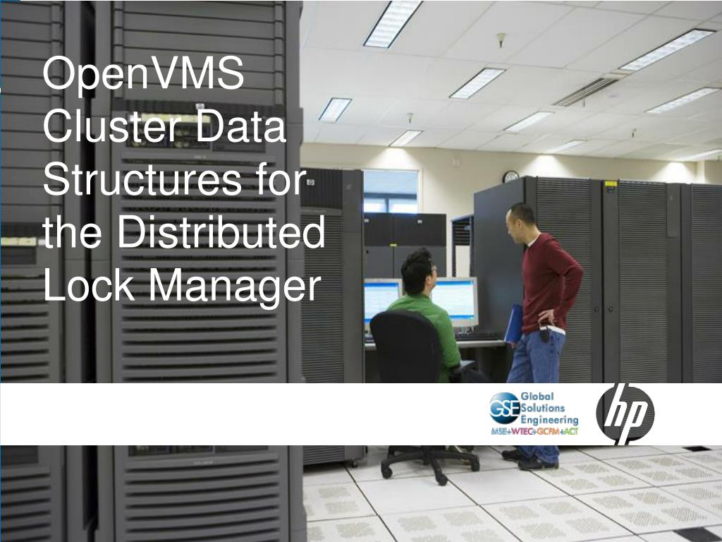 OpenVMS Cluster Data Structures for the Distributed Lock Manager