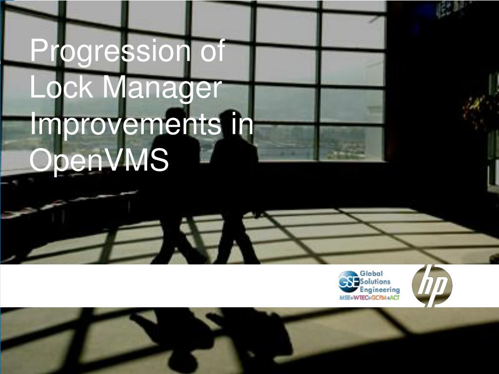 Progression of Lock Manager Improvements in OpenVMS