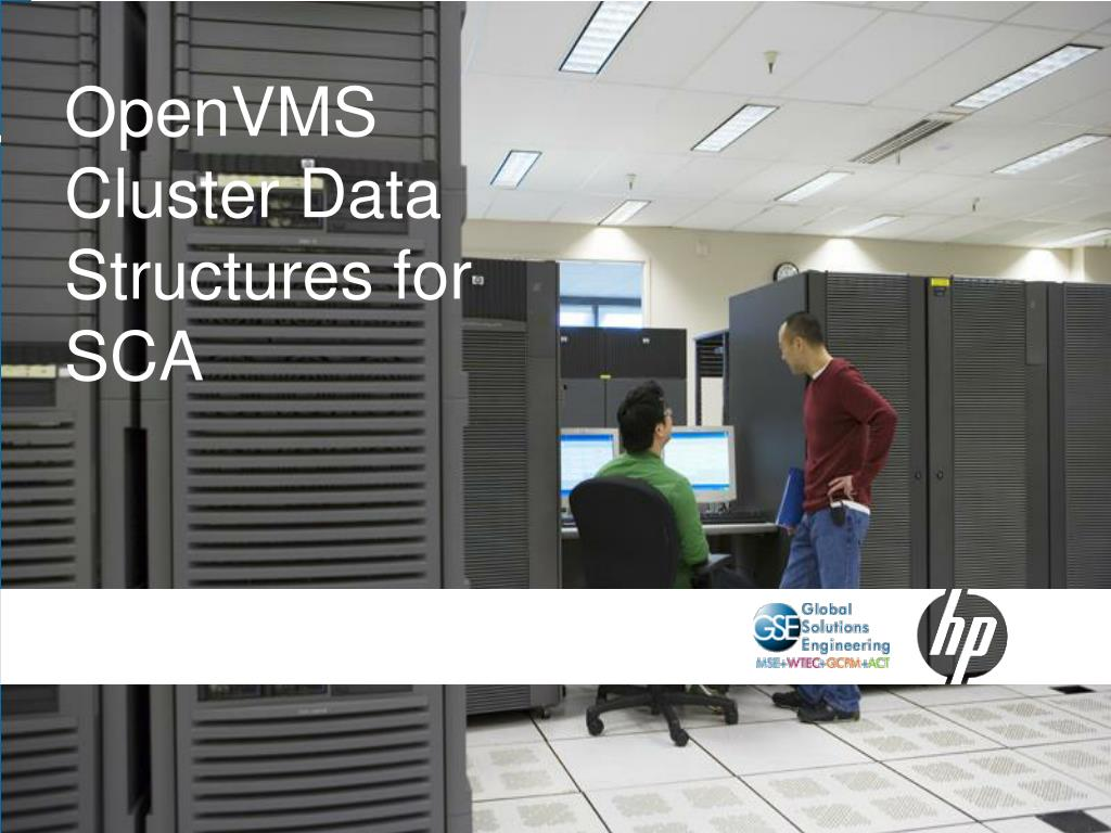 OpenVMS Cluster Data Structures for SCA