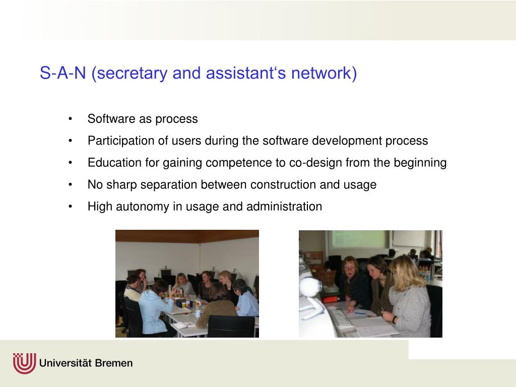 S-A-N (secretary and assistant's network)