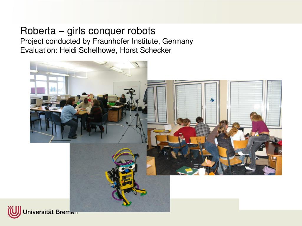 Roberta – girls conquer robots