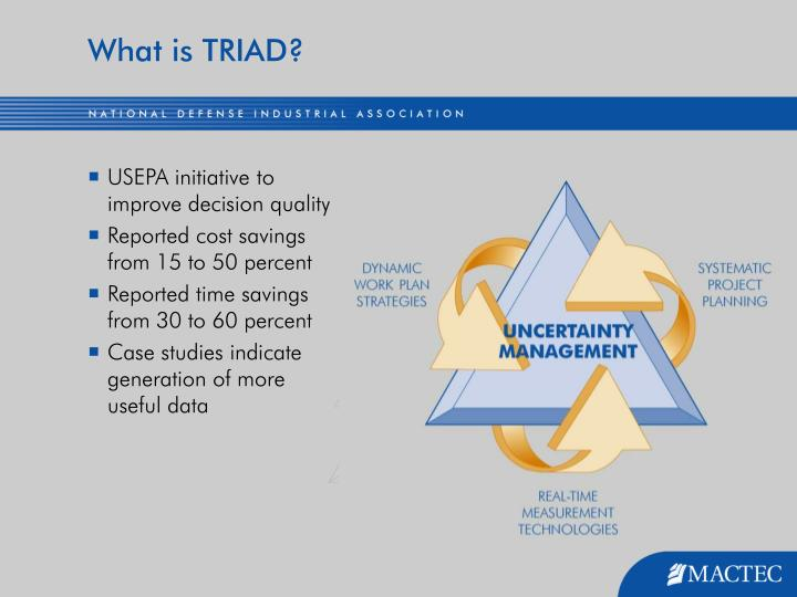 What is TRIAD?