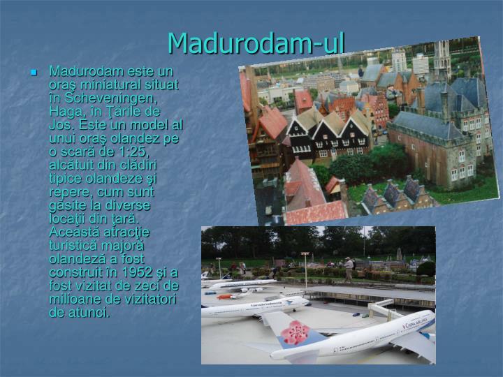 Madurodam-ul