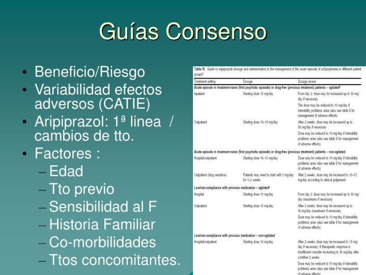 Guías Consenso
